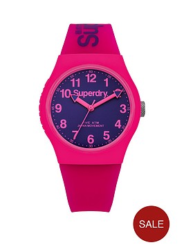 superdry-superdry-urban-purple-dial-pink-silicone-strap-ladies-watch
