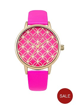 daisy-dixon-penny-pink-gold-circle-detail-dial-pink-leather-strap-ladies-watch