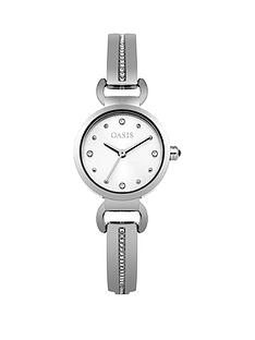 oasis-oasis-silver-sunray-dial-silver-stone-set-half-bangle-ladies-watch