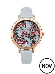 oasis-oasis-floral-printed-dial-grey-pu-strap-ladies-watch