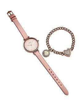 lipsy-lipsy-pink-dial-pink-pu-strap-ladies-watch-and-braclet-gift-set