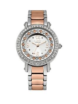 lipsy-lipsy-silver-stone-set-dial-stone-set-bezel-silver-rose-gold-metal-bracelet-ladies-watch