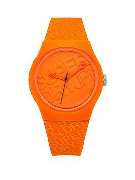 superdry-superdry-urban-orange-dial-orange-logo-printed-silicone-strap-unisex-watch