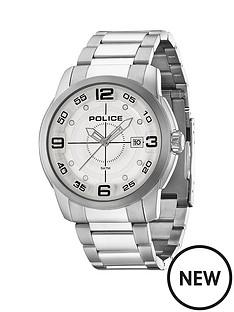 police-police-sniper-grey-multi-dial-stainless-steel-bracelet-mens-watch