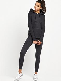 superdry-studio-drape-rib-hooded-top-speckle-charcoal