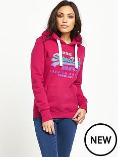 superdry-vintage-logo-duo-entry-hoodie-raspberry-sorbet-neon