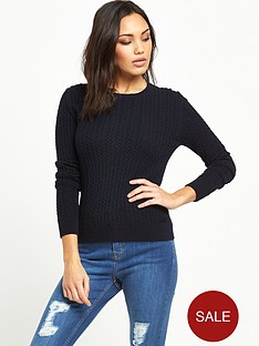superdry-croyde-luxe-mini-cable-knit-jumper--nbspmarine-navy