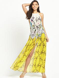 ted-baker-roulisnbspbeach-maxi-dress-yellow-nbsp