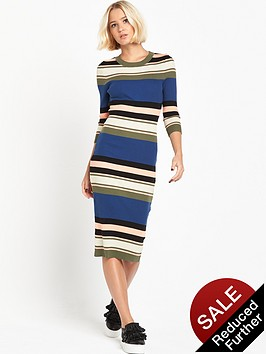 lost-ink-striped-knit-dress-in-rib