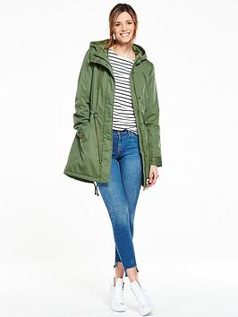 V By Very Hooded Casual Parka Coat