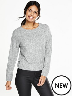 v-by-very-crew-neck-elasticated-hem-jumper