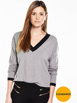 v-by-very-v-neck-contrast-tipping-jumper