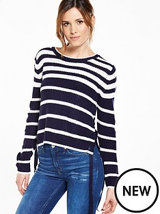 v-by-very-colour-blockstriped-jumper