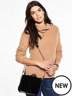 v-by-very-roll-neck-rib-jumper