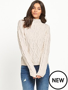 v-by-very-funnel-neck-3d-cable-knit-jumpernbsp