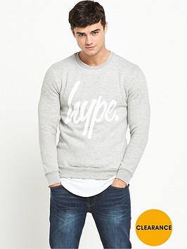 hype-logo-crew-sweat