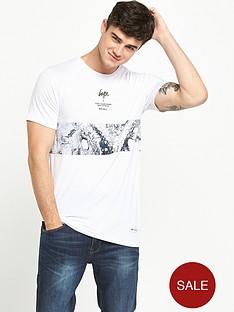 hype-mono-sands-panel-tshirt