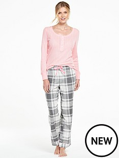v-by-very-woven-pant-and-henley-top-pj