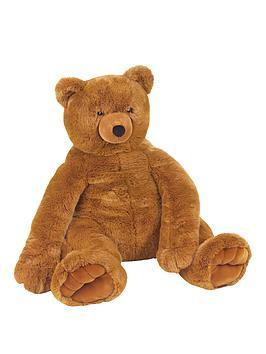 melissa-doug-jumbo-brown-teddy-bear-plush