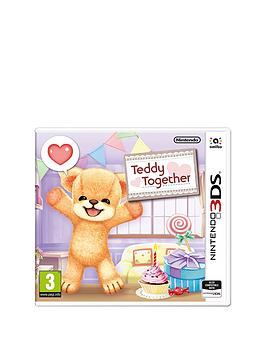 Nintendo 3Ds Teddy Together  3Ds