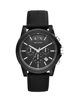 armani-exchange-armani-exchange-black-dial-chronograph-black-silicone-strap-mens-watch