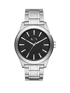 armani-exchange-nico-black-dial-stainless-steel-bracelet-mens-watch