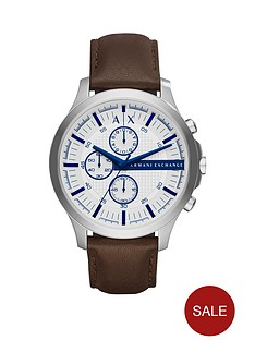 armani-exchange-white-dial-blue-accent-chronograph-brown-leather-strap-mens-watch
