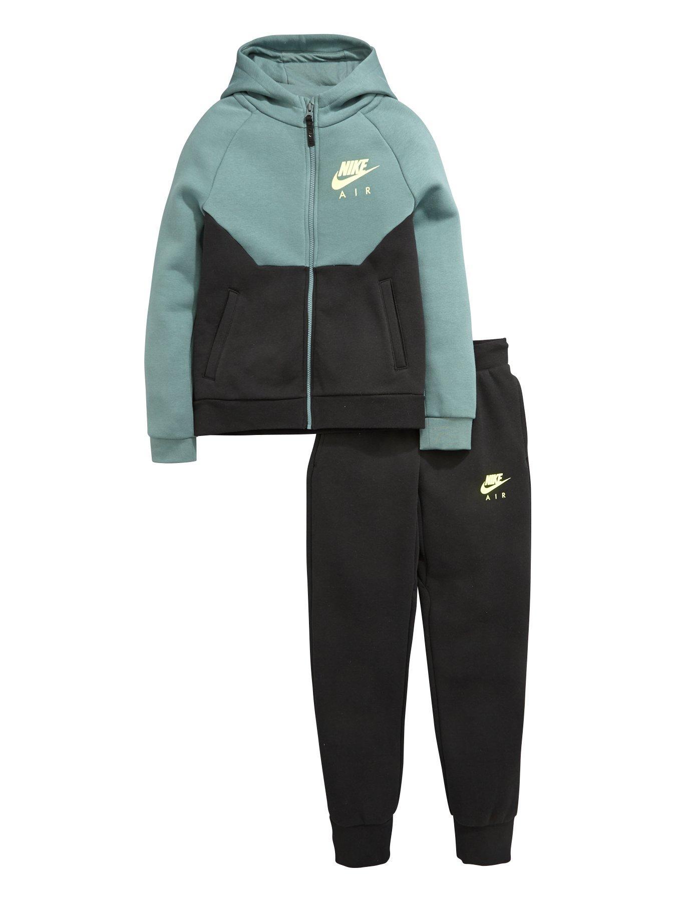 raadx Nike Air Older Boys Fleece Warm Up Tracksuit | littlewoods.com