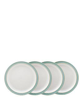 denby-elements-4-piece-medium-plate-set-ndash-green
