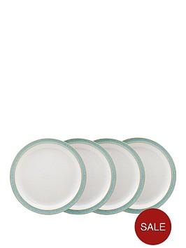 denby-elements-4-piece-medium-plate-set-ndash-green