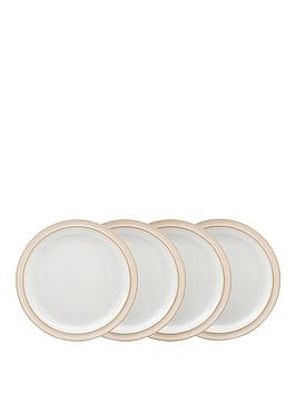 denby-elements-4-piece-medium-plate-set-ndash-natural