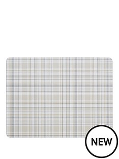 denby-denby-elements-checks-natural-6-piece-placemats