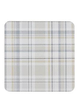 denby-denby-elements-checks-natural-6-piece-coasters