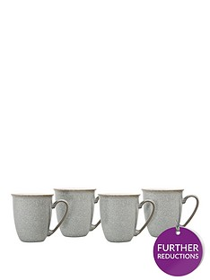 denby-elements-set-of-4-coffee-mugs-ndash-light-grey