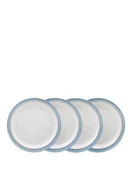 denby-elements-4-piece-dinner-plate-set-ndash-blue