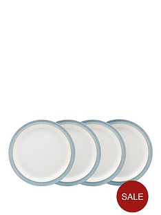 denby-elements-4-piece-medium-plate-set-ndash-blue