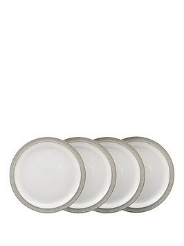 denby-elements-4-piece-medium-plate-set-ndash-light-grey