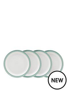 denby-denby-elements-green-4-piece-dinner-plate-set