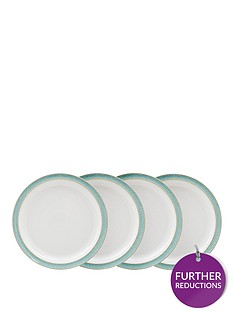 denby-elements-4-piece-dinner-plate-set-ndash-green