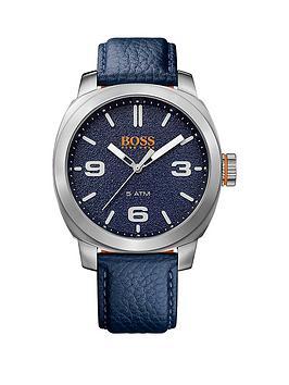 Hugo Boss Hugo Boss Cape Town Casual Blue Dial Blue Strap Mens Watch