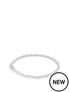love-silver-sterlingnbspsilver-and-cubic-zirconianbsptennis-style-bracelet