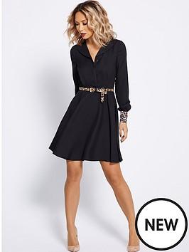 myleene-klass-leopard-cuff-shirt-dress