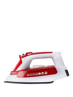 hoover-ironjet-til2200-steam-iron-redwhite