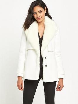 river-island-faux-fur-collar-pea-coat