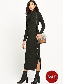 ri-studio-knitted-cowl-neck-maxi-dress