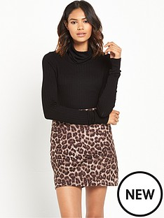 river-island-river-island-knitted-roll-neck-jumper