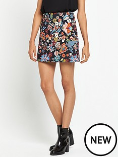 river-island-printed-floral-mini-skirt