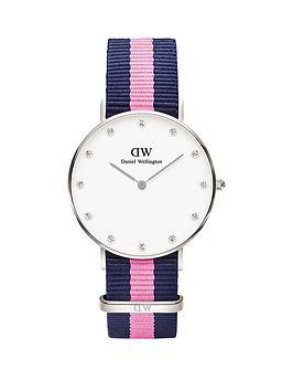 daniel-wellington-daniel-wellington-classy-winchester-34mm-white-dial-blue-and-pink-strap-watch
