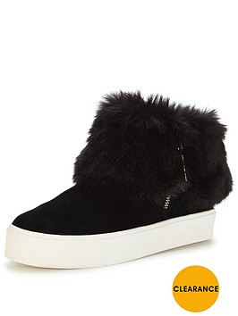 carvela-lillie-fold-down-fur-plimsoll