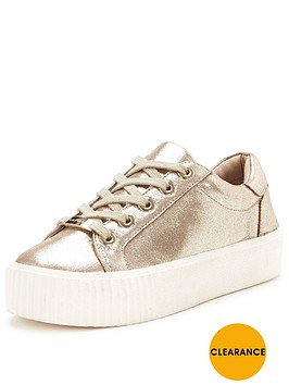 carvela-libby-metallic-trainer